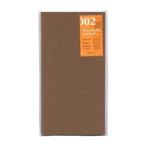 Midori Notebook (Refill 002) Grid