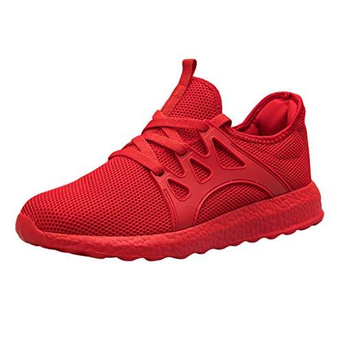 HCFKJ Scarpe Sportive Sneaker Maglia Casual da Uomo alla Moda con robuste Sneakers Sportive da Corsa