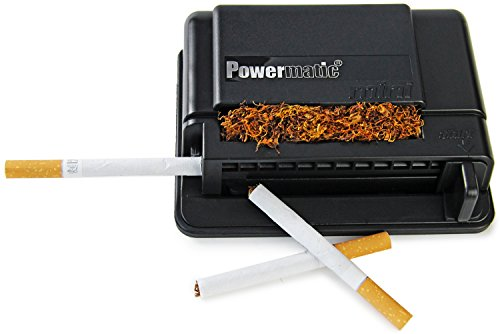 M&M's MM 16940 Powermatic Mini - Máquina para Liar Cigarrillos, de plástico, en Color Negro,...