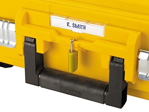 Stanley FatMax Werkzeugkoffer / Werkzeugbox (40x54x23.5cm, Werkzeugaufbewahrung mit Trolley und Teleskophandgriff, für Werkzeuge und Zubehör, fiberglasverstärkte Akkordeonstruktur) FMST1-72383 - 2