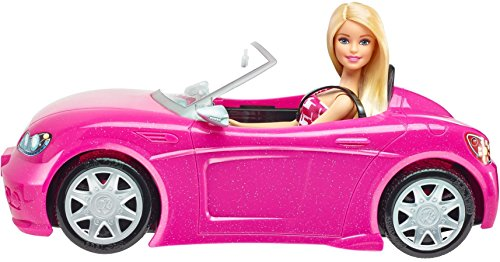 Image of Barbie Convertible and Doll Pack