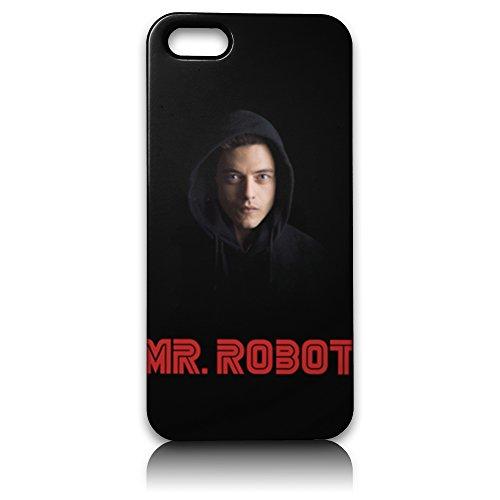 farmygadget Coque Case Étui Impression Complète type MR. Robot pour Smartphone Apple MRROB18
