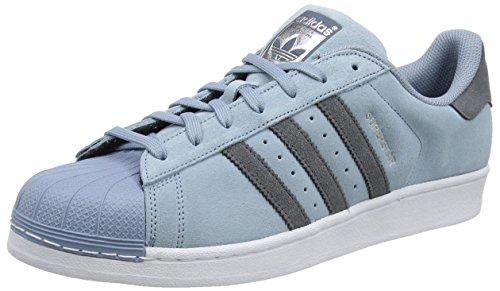 adidas Superstar, Scarpe da Corsa Uomo Blu (Tactile Blue/onix/onix)