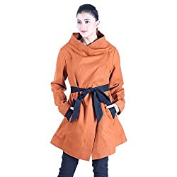 Owncraft Tan Wool Coat with Belt 3