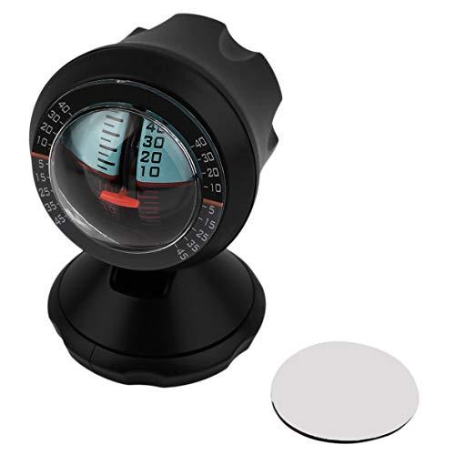 Heaviesk Angle Slope Level Meter Finder Balancer Auto Fahrzeug Neigungsmesser Angel Level Finder Tool für Auto Reisende Angeln Finder