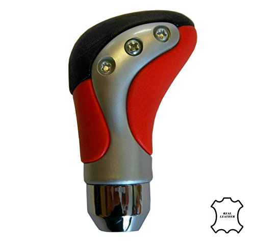 xtremeautor-red-silver-chrome-real-leather-sport-gear-knob-shifter-for-manual-transmission-car
