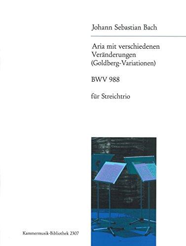 Goldberg-Variationen Bwv 988 Bearb. F. S...
