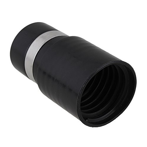 Yibuy Schwarz 32mm ID Vakuum Schlauch Adapter 00177Für Shop Staubsauger Zubehör 39mm-adapter