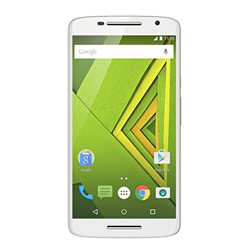 "Motorola Moto X Play - Smartphone de 5.5"" (Full HD, 4G, 1.7 GHz Octa Core, 2 GB RAM, 16 GB, cámaras de 21/5 MP, Android 6) color blanco"
