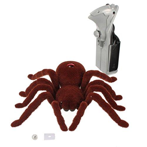 ng Soft Plüsch Spinne Infrarot RC Tarantula Spielzeug Geschenk für Kinder (Spinne Tarantula)
