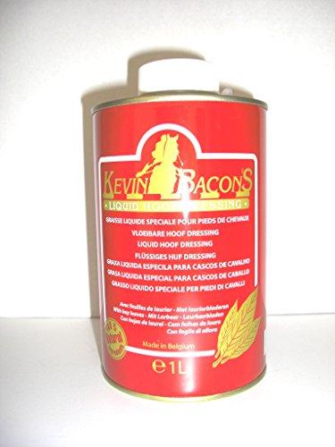Kevin Bacon Huf Dressing Liquid Huföl mit Lorbeeröl mit Pinsel (1000 ml)
