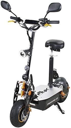 eFlux Freeride X2 Elektroroller Scooter – 2000 Watt Motor – Scheibenbremsen – Multifunktionsanzeige – Straßenzulassung
