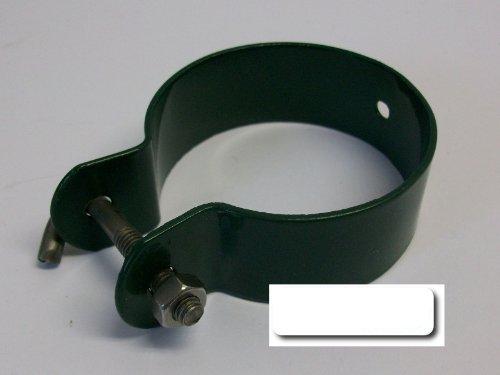 Collier de serrage vert pour barre de tension 40mm