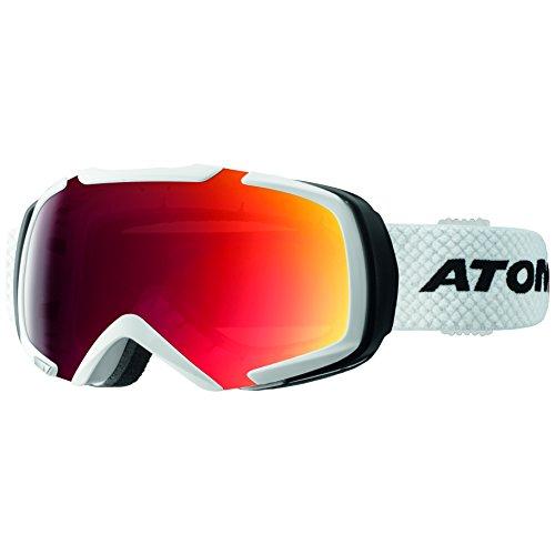 Atomic AN5105358 Occhiali da Sci, Bianco, Taglia Unica