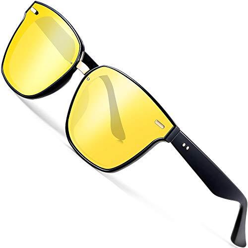 c0f9c11e1132 ATTCL Unisex Sunglasses Night Driving Glasses UV Protection 555 Night Vision