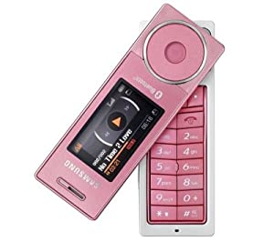Samsung Sgh X830 In Pink Sim Free Mobile Phone Amazon