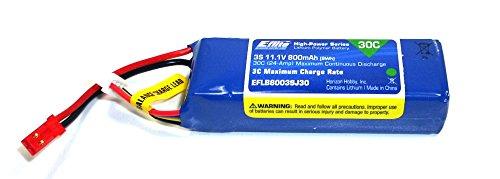 Blade 200 SR X Ersatzteil EFLB8003SJ30 Lipo Akku 800 mAh 3S 11,1 V 30C BH2® -