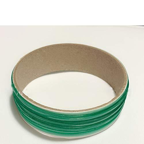 Feketeuki 5M, Autoverpackung aus Vinyl, Design mit messerlosem Klebeband, Autolinienaufkleber, Schneidewerkzeug, Vinylfolie, Klebeband einwickeln, Autozubeh?r - Grün