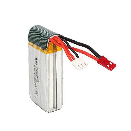 7,4V 1200mAh Lipo Akku Batterie für MJX X101 Wltoys V353 V353B V666 V262 A949 A969 A979 K929 V912 V915 yizhan x6 Ersatzakku Ersatzteile - 3