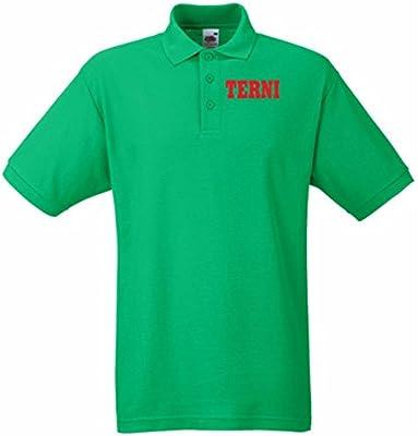 T-Shirtshock - Polo WC0973 TERNI ITALIA CITTA STEMMA LOGO