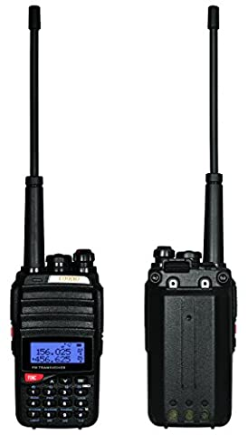 Coodio C96 Talkies Walkies Radio 5W VHF/UHF 2 x 128-Canaux