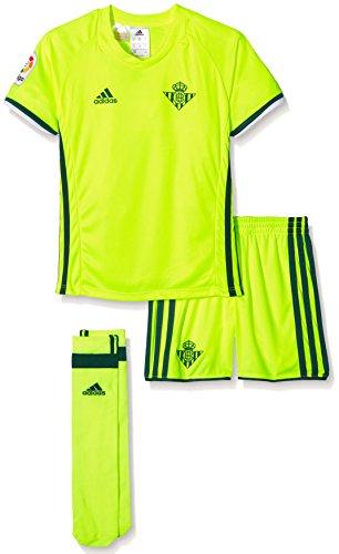 adidas Betis 3Minikit-3rd Fußball-Outfit-Betis FC für Jungen, Herren, Betis 3 Minikit, Verde (Custom), 116 Fußball-outfit