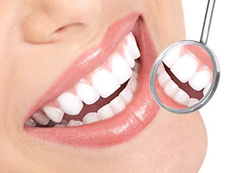 5er Dental Set Zahnreinigung Zahnsteinentferner Zahnsonde Zahnpflege Mundspiegel Instrument Sonde Pflegeset Edelstahl Scaler – Marke Sunglow