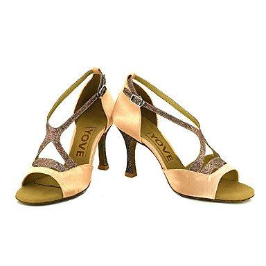 Ruhe @ Damen Beruf Dance Schuhe Violett