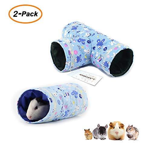 Túnel de juguete divertido para mascotas de hámster, chinchillas, ratones, ratas de gerbil, ardilla, erizo, hedgehog