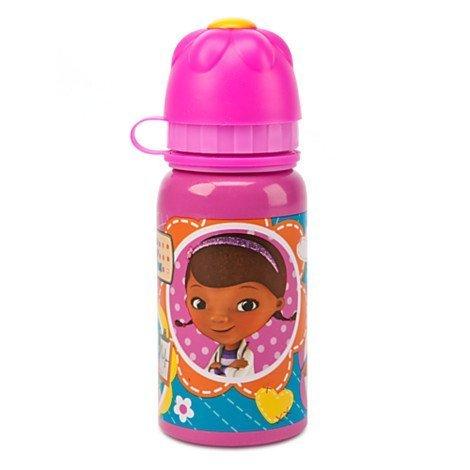 1 X Doc Mcstuffins Aluminum Water Bottle - Small by Disney