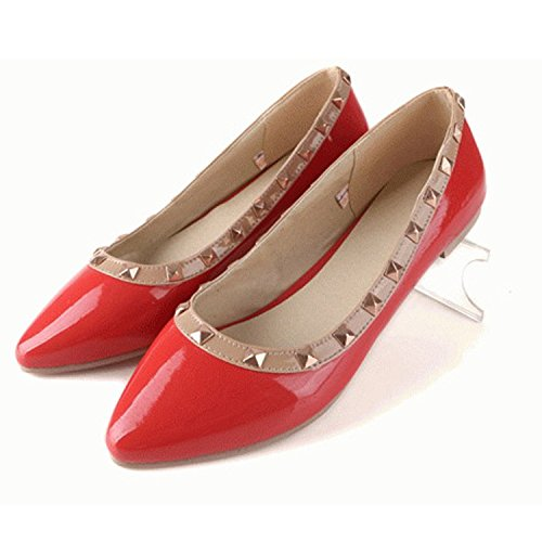 Calcanhar Senhoras Senhoras Vermelho Calcanhar Nonbrand Vermelho Bailarinas Bailarinas Nonbrand 1wRHxTXHqt