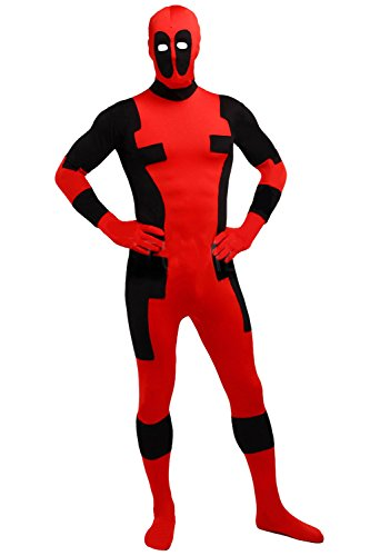 BOODUN Lycra Spandex Bodysuit Unisex Zentai Halloween Cosplay Kostüme Kostüm, (Männer Customes Halloween Für)