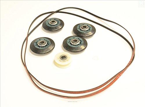 4392067Whirlpool FSP correa de recambio para secadora (661570) y rodillos Kit de mantenimiento