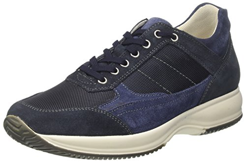 Bata Herren 849162 Hohe Sneaker Blau