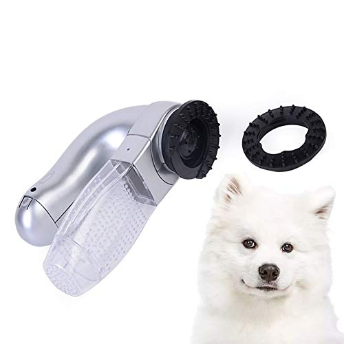 FFFFM Removedor Eléctrico del Pelo del Animal Doméstico, Aspirador De Pelo para Mascotas,Limpiador De La Piel Aspirador del Animal Doméstico Cepillo Perro Pelo Corto