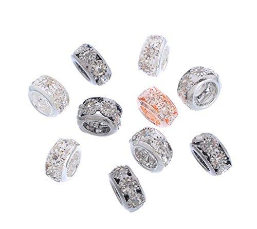 souarts-mixte-perles-intercalaires-avec-strass-blanc-pour-bracelet-breloque-lot-de-10pcs