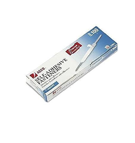 ACCO Premium Self-Adhesive Paper File Fasteners, 1