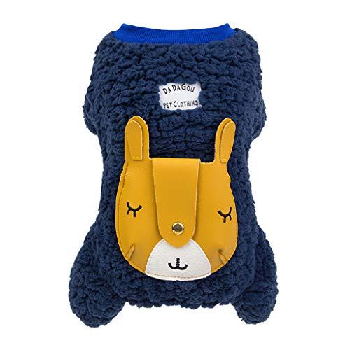 Kostüm Tutu Giraffe Kleid - Winterjacken,Pet Warm Hundebekleidung Four-Legged Giraffe Mäntel Herbst Winter Haustier Katze