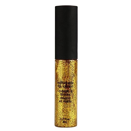 Syeytx Metallic Smoky Eyes Lidschatten Wasserdichter flüssiger, glänzender Glitzerperlen Eyeliner & Lidschattenstift