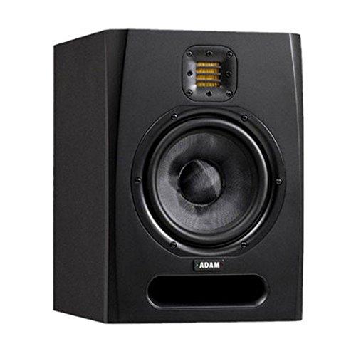 Adam Audio F7Lautsprecher–Lautsprecher (schwarz, Tischplatte/Bücherregal, PC, Eingebaut, verkabelt, RCA/XLR) Geschirmt Desktop-lautsprecher