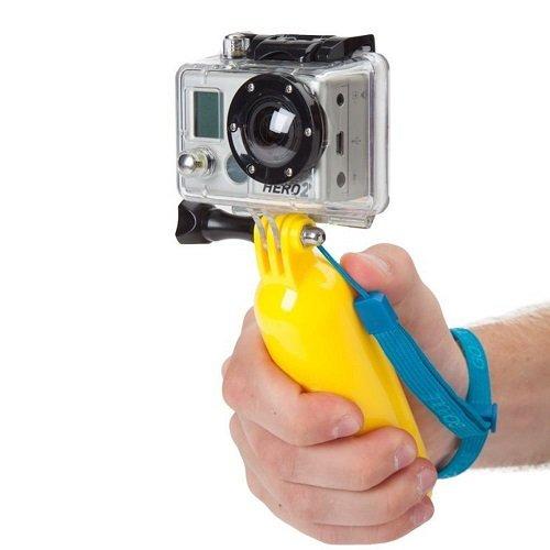 JMT–Tappo galleggiante tasca Stick galleggiante Grib con cinghia per GoPro Hero 1/2/3- L' arrivo di nuovi