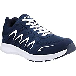 Sparx Men's Navy Blue and White Running Shoes - 9 UK/India (43 EU)(SX-276)