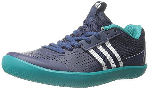 Adidas Performance Throwstar W Scarpe da corsa, bianco / collegiata Navy / verde, 5 M Us