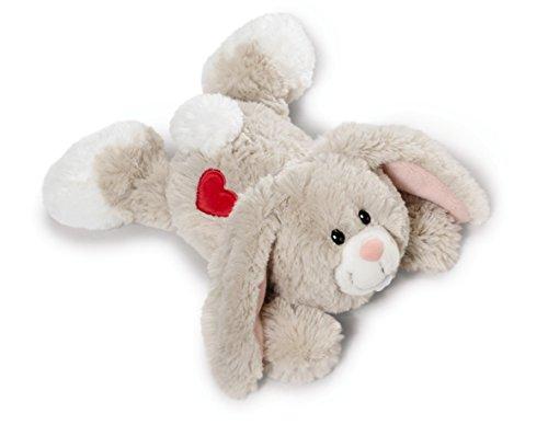 Nici 40169.0 – Love Hase mit Herz-Stickerei Hab Dich lieb 20 cm liegend