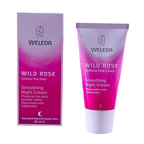 Weleda Wild Rose Smoothing Night Cream - 30ml - PACK OF 5