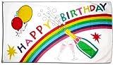 Flagge Happy Birthday - 60 x 90 cm