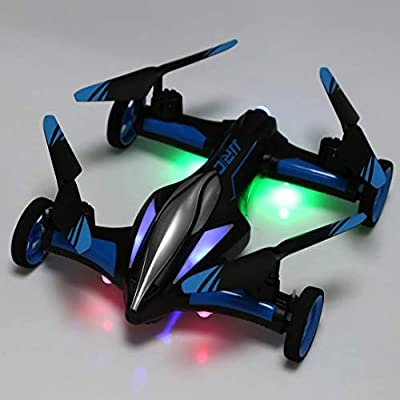 Monllack JJRC H23 2.4g 4CH 6-Axis Gyro Air-Ground Car Flying RC Drone RTF Quadcopter With 3D Vibrating Mode One-Button Return Headless