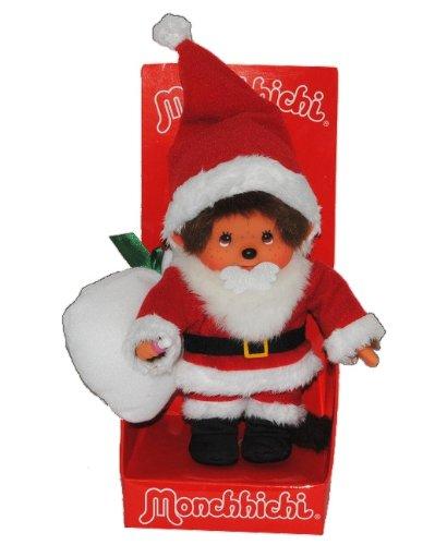 Monchhichi als Weihnachtsmann - ausziehbar - Monchichi Santa Claus Nikolaus Winter Weihnachten (Kostüm Monchichi)
