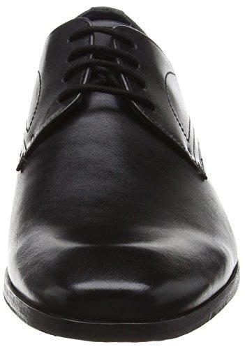 Bugatti 311131011010, Derby homme Noir (Schwarz)