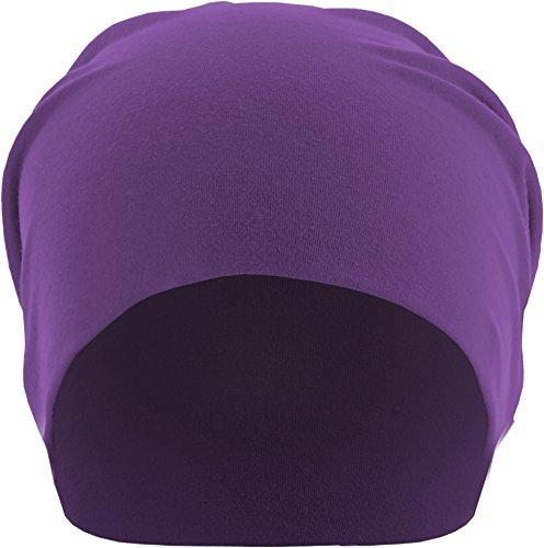 MSTRDS Unisex Erwachsene Jersey Beanie Strickmützen,per pack Violett (purple 3424),One Size (one size) (Co-baseball-jersey)